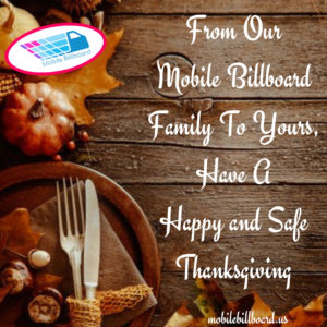 Mobile Billboard Thanksgiving 300x300 - Mobile Billboard Thanksgiving