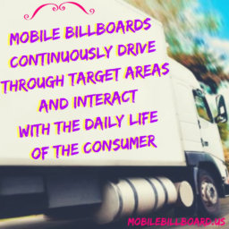 Mobile Billboard Promo Tip
