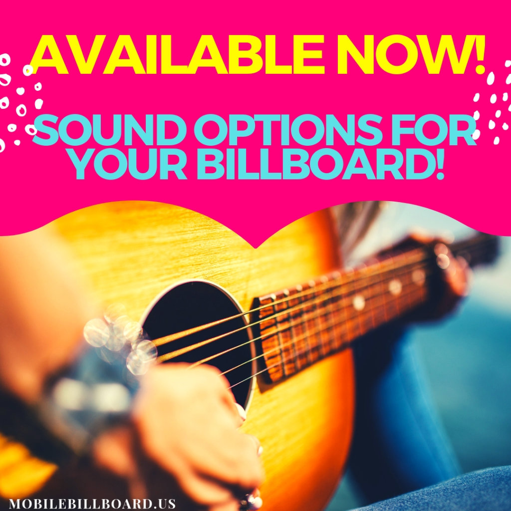 Copy of Sound Options For Billboard Marketing 1024x1024 - The Billboard Option That Is Music To Your Ears!