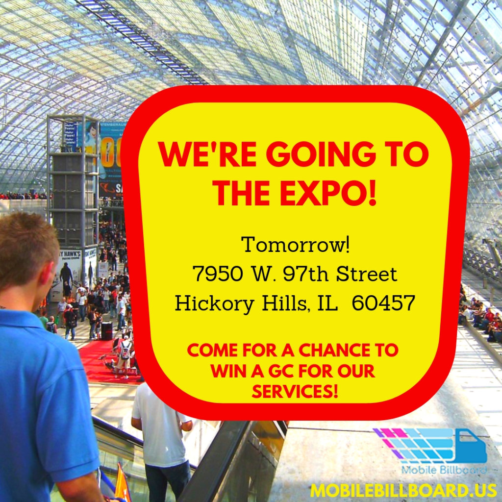 Going to the Expo 1024x1024 - We're Going To The Business Expo!