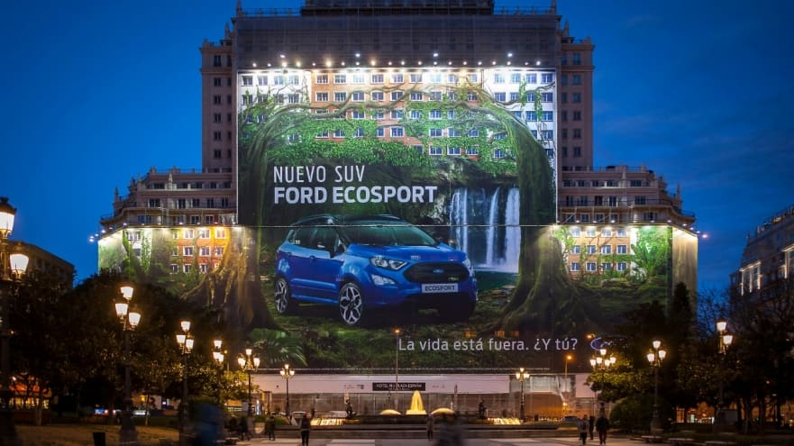 Ford Espana Billboard - Wild Facts About Billboards!