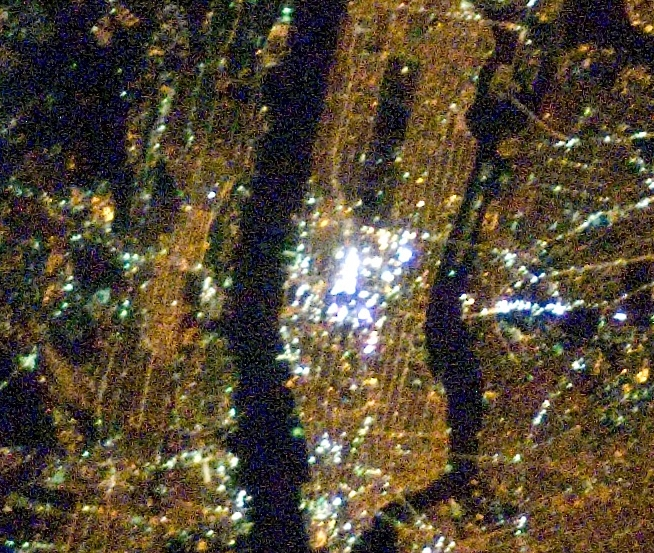 Times Square From Space - Wild Facts About Billboards!