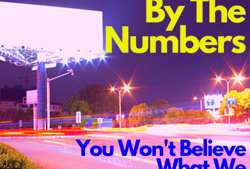 Billboards By The Numbers