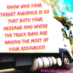Know Your Target Consumer!