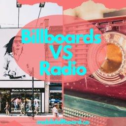 Billboards VS Radio