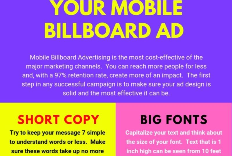 How To Design Your Billboard Ad