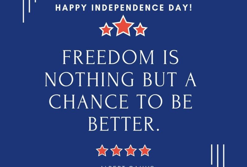 A Fourth of July Greeting