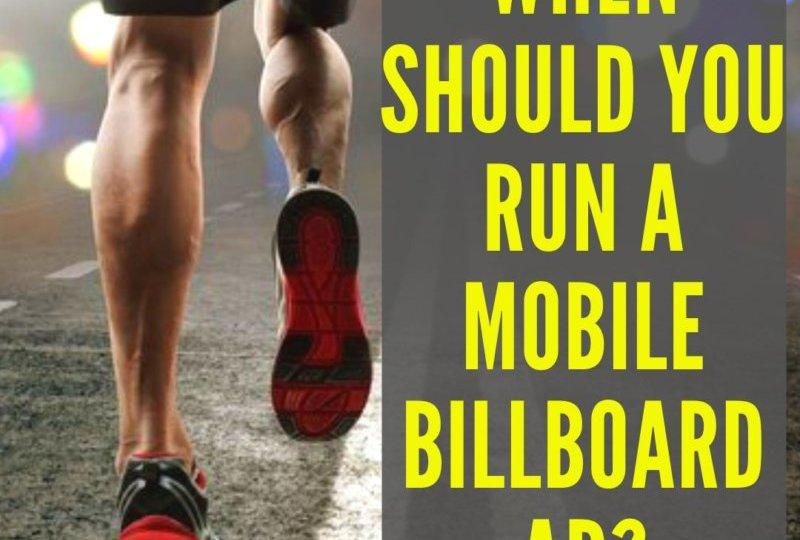 Mobile Billboard Campaigns