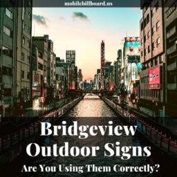 Mobile Billboards in Bridgeview