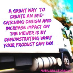 Mobile Billboard Design Tips