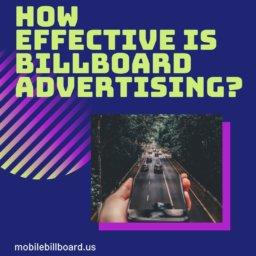 How Effective Is Billboard Advertising?